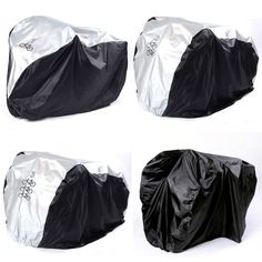 Waterproof Bicycle Cycle Bike Cover Outdoor Multipurpose Rain Snow Dust All Weather Dust bask Protector PU Coating Bike Cover, Cover Size, Cycling, Rain Jacket, Windbreaker, Bicycle, Weather, Brand New, Womens Fashion