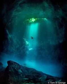 travelingpage: Cenote El Pit Mexico | Tom St George | Say Yes To Adventure
