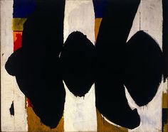 robert motherwell / elegy to the spanish republic no 34 / 1953-4 / oil on canvas