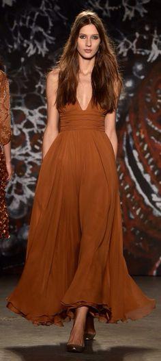 NY: Jenny Packham - Runway - Mercedes-Benz Fashion Week Fall 2015