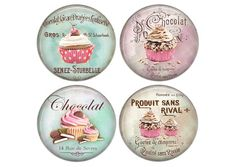Resin cabochons, 20 or 25 mm to choose from, craft, round, set of 4 chocolate 01 Rue De Sevres, Smoke Bomb Photography, Clear Epoxy Resin, Pocket Letters, Photo Magnets, Doll Furniture, Etiquette, Vintage Images, Fashion Dolls