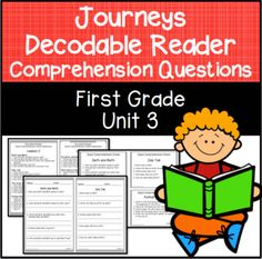 This is a free five day lesson plan for teaching with houghton journeys first grade comprehension questions for decodable readers unit 3 journey 2014houghton mifflin harcourtcomprehension fandeluxe Image collections
