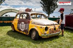 Fiat Bambino Ratter 11 Nw Fiat 500, Fiat Cars, Vespa, Cute Baby Animals, Muscle Cars, Hot Rods, Cute Babies, Antique Cars, Cool Photos