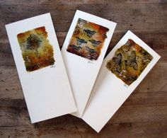 Letting in the Light: Teabag Art Cards, by Kim Henkel Something new to try! Must have some tea... khenkel.blogspot.ca