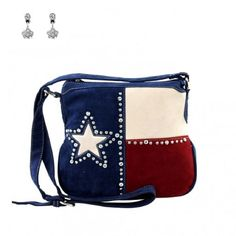 Montana West Texas Star Concealed Carry Gun Red Blue Messenger Purse Earrings | Clothing, Shoes & Accessories, Women's Handbags & Bags, Handbags & Purses | eBay!