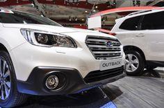 Live in Brussel 2015: Subaru doet ruig met Outback