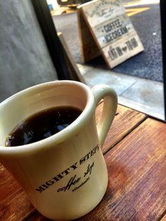 Mighty steps coffee @nihonbashi