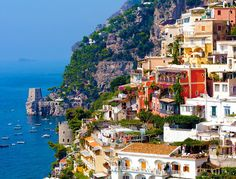 Steven Slicer - Positano along the Amalfi Coat, Italy. Honeymoon Hotels, Best Honeymoon, Italy Coast, Amalfi Coast, Cinque Terre, Italy Tourist Attractions, Shore Excursions, Adventure Is Out There, Oh The Places You'll Go