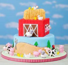 Posts about farm cookies written by autumncarpenter Farmer Birthday Cake, Adult Birthday Cakes, Farm Birthday, Birthday Party Themes, Barnyard Party, Farm Party, Farm Animal Cakes, Farm Animals, Farm Cookies