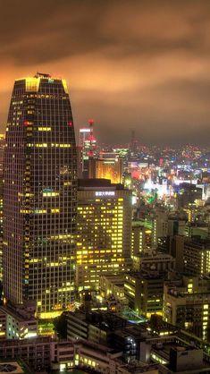 Night View,  Japan,  Tokyo