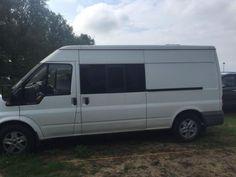 Registered as a camper on the and has on the clock Camper Conversion, Camper Ideas, Ford Transit, Camper Van, Norfolk, Van Life, Motorhome, Diesel, Trucks