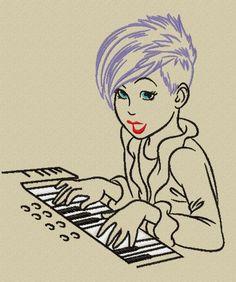 motif de broderie la pianiste http://www.les-broderies-de-sylviane.fr/boutique/themes/musique/les-nouvelles-stars/les-nouvelles-stars-la-pianiste.html