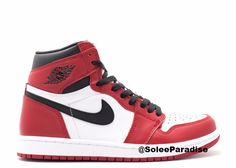 "The Air Jordan 1 High OG ""Chicago"" is probably the most recognizable Air Jordan to date. The classic Air Jordan 1 is the sneaker that started it all. After being around for so long, the sneaker has se"