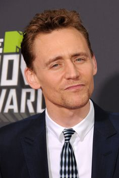 Tom Hiddleston The face i make at myself in the mirror