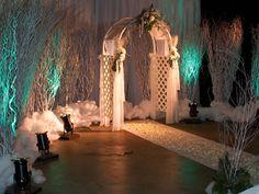 Winter Prom scene