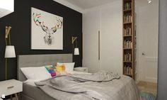 Sypialnia styl Minimalistyczny - zdjęcie od Grafika i Projekt architektura wnętrz - Sypialnia - Styl Minimalistyczny - Grafika i Projekt  architektura wnętrz