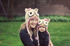 matching crochet hats
