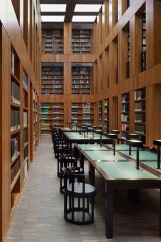 Max Dudler Architekt — Folkwang Library — Image 14 of 35 — Europaconcorsi