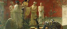 Πόσο επίκαιρο: Τι είπε η Πυθία πριν 22 αιώνες για το ελληνικό Έθνος Greek History, Ancient Greece, Mythology, Bitterness, Painting, Amazing, Flowers, Art, Beauty