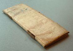 title:Beneficios Geologias de difereu familias vni das a le copons date:[1748] (1st leaf, back, after index) limp vellum bookbinding
