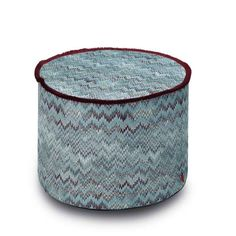 THAILAND #174 POUF - MISSONI HOME at Spence & Lyda #ottomans #spenceandlyda #missonihome #australia #sydney #cotton