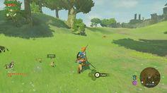 The Legend of Zelda : Breath of the Wild - Wolf Link amiibo integration as a pet companion | #ZeldaBotW #ZeldaBreathoftheWild #2017