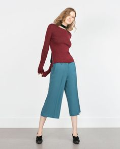 ZARA - NEW IN - CULOTTES