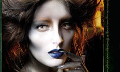 I fell in love with Illamasqua in London, it looks to be an enduring relationship