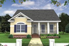 Energy-Saving House Plan - 51011MM | 1st Floor Master Suite, CAD Available, Cottage, Narrow Lot, PDF, USDA Approved | Architectural Designs