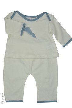 Belabumbum Plume Baby Set in Plume. Please use coupon code NewProducts to receive 15% off these items. To receive the discount, please place your order by midnight Monday, May 11, 2015