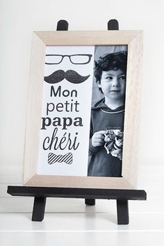 Cadre photo - Fête des pères Christmas Gifts For Him, Hannukah, Fathers Day Crafts, Diy Hacks, Crafts For Kids, Activities, Inspiration, Father Sday, Blog