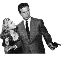 """""""Philip Marlowe rides again, in this touchstone film noir that set the standard for depictions of Raymond Chandler's ethical-cynical private detective. Dick Powell pulled off the biggest star persona makeover of the decade, dishing out the hardboiled Chandler patter like he been talking that way since Kindergarten."""""""