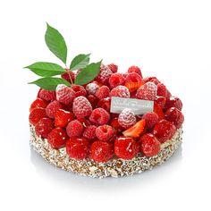 Tarte fruits rouges, un tarte légère généreusement fruité. Nicolas Bernardé