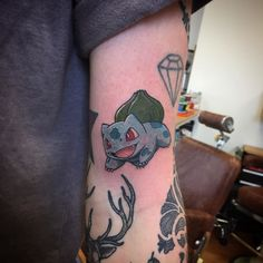 Cheeky little bulbasaur Pokemon from yesterdy thanks Nathan!!! Done…