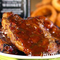 Jack Daniels Double Kick Pork Chops (With Video)