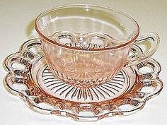 Old Colony depression glass....so pretty!