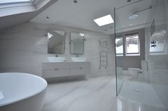 Marble designed bathroom. Refined, exquisite and royal.