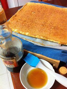 Pionono relleno con dulce de leche - Tembi'u Paraguay