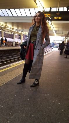Sweet winter #trench #tweed #ldn #streetstyle #urbanstyle