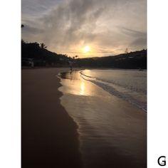 Nascer do sol - Praia Ferradura - Búzios - Férias 2015 - http://instagram.com/gigibrazil4/