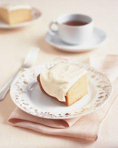 Honey Cake with Honey Cream Cheese Frosting Recipe   Martha Stewart