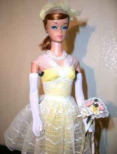 Titian Swirl Barbie in Orange Blossom '60's