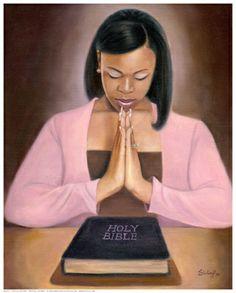 A praying sister