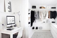 最有品味的黑白設計:舒適又有個性!15 個黑白睡房佈置靈感!