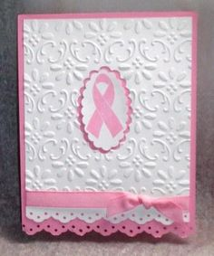 CreatedByU October Breast Cancer Card