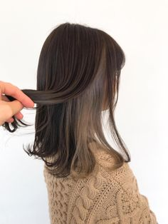 Discover recipes, home ideas, style inspiration and other ideas to try. Under Hair Dye, Under Hair Color, Hidden Hair Color, Two Color Hair, Hair Color Underneath, Korean Hair Color, Hair Color Streaks, Hair Color Purple, Hair Highlights