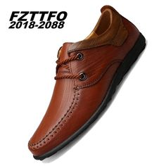 Fair price 38-45 Big Puls Size Handmade Genuine Leather Flats Men's Boat Shoes High Quality Loafers Brand Driving Shoes K452 just only $42.35 - 45.65 with free shipping worldwide  #menshoes Plese click on picture to see our special price for you