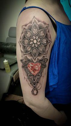 Mandala tattoo, Diamond Tattoo