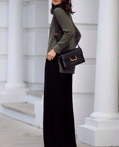 Everything I would want to wear. It's a simple outfit, but well put together.
