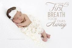 newborn quote    www.vintagepearphotography.com
